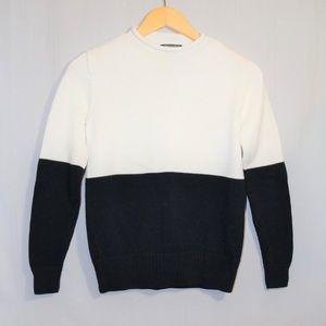 Women's Ralph Lauren Golf WHITE & BLUE Sweater